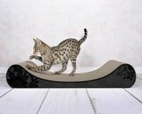 Preview: #000x - stylish design scratch post for cats Le Divan