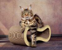 Preview: Design cat scratcher Singha M - color: sand