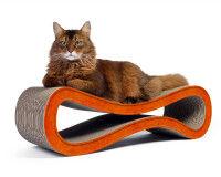 Preview: Design cat scratcher Cat Racer in orange 004f