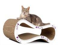 Aperçu: griffoir tendance et ludique pour chats - Singha L