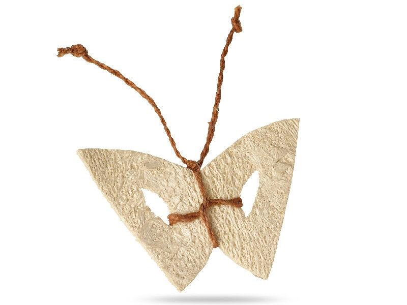 Papillon en éponge luffa jouet pour chat
