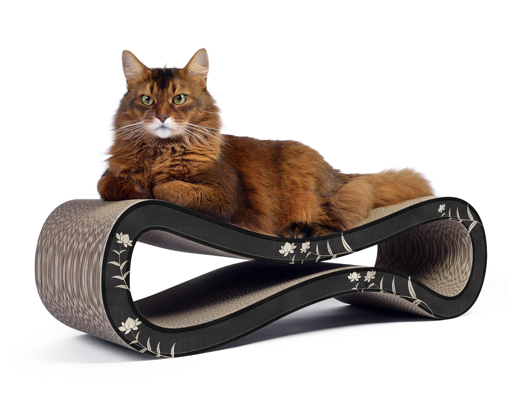 Cat Racer design scratch post