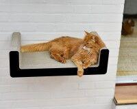 Vorschau: Suma Takai Katzen-Wandliege schwarz