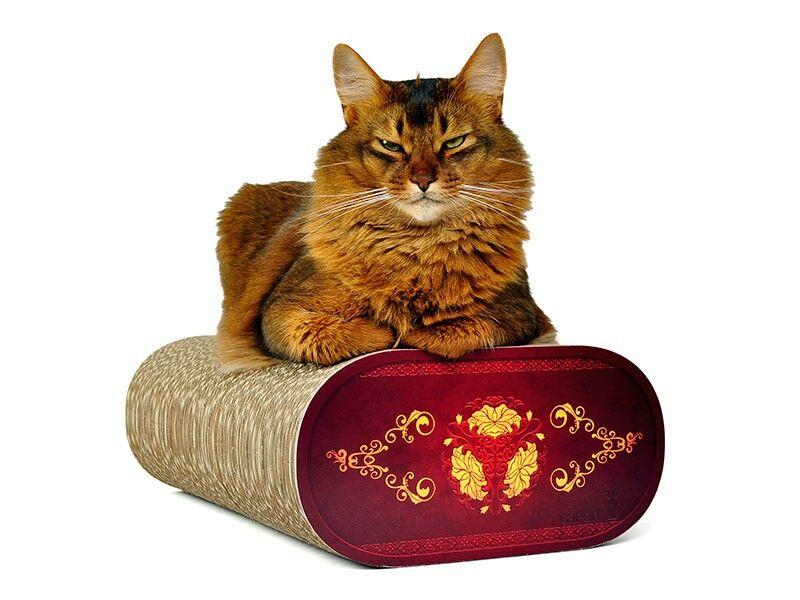 cat on la banquette kratzbrett der extraklasse robuste kratzbretter aus hochwertiger. Black Bedroom Furniture Sets. Home Design Ideas