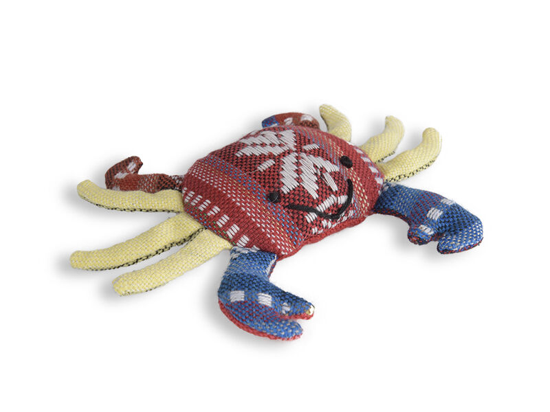 The Crab cotton cat toy