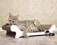 cat lounger Le Canapé in white