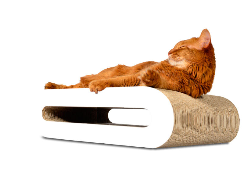 Le Rouleau cat scratcher