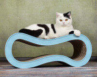 Preview: Design cat scratcher Singha M - black and white pattern