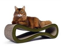 Preview: cardboard scratch post Cat Racer in oliv 006