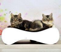 Vorschau: Kratzbrett für Katzen Le Ver S - Farbe: 000a