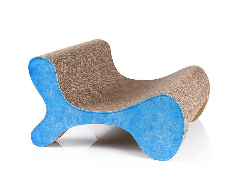 Molecular Fauteuil griffoir design