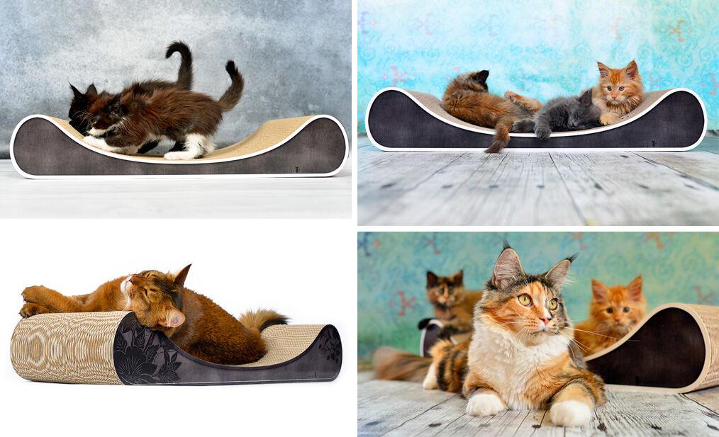 Katzensofa |Katzendiven | Katzenliege |Kratzpappe