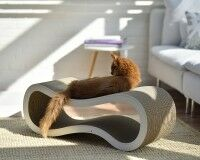 Preview: Design cat scratch post cat-on Singha L | Handmade in Germany