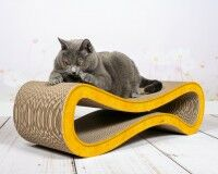 Preview: Cat Racer design scratch post